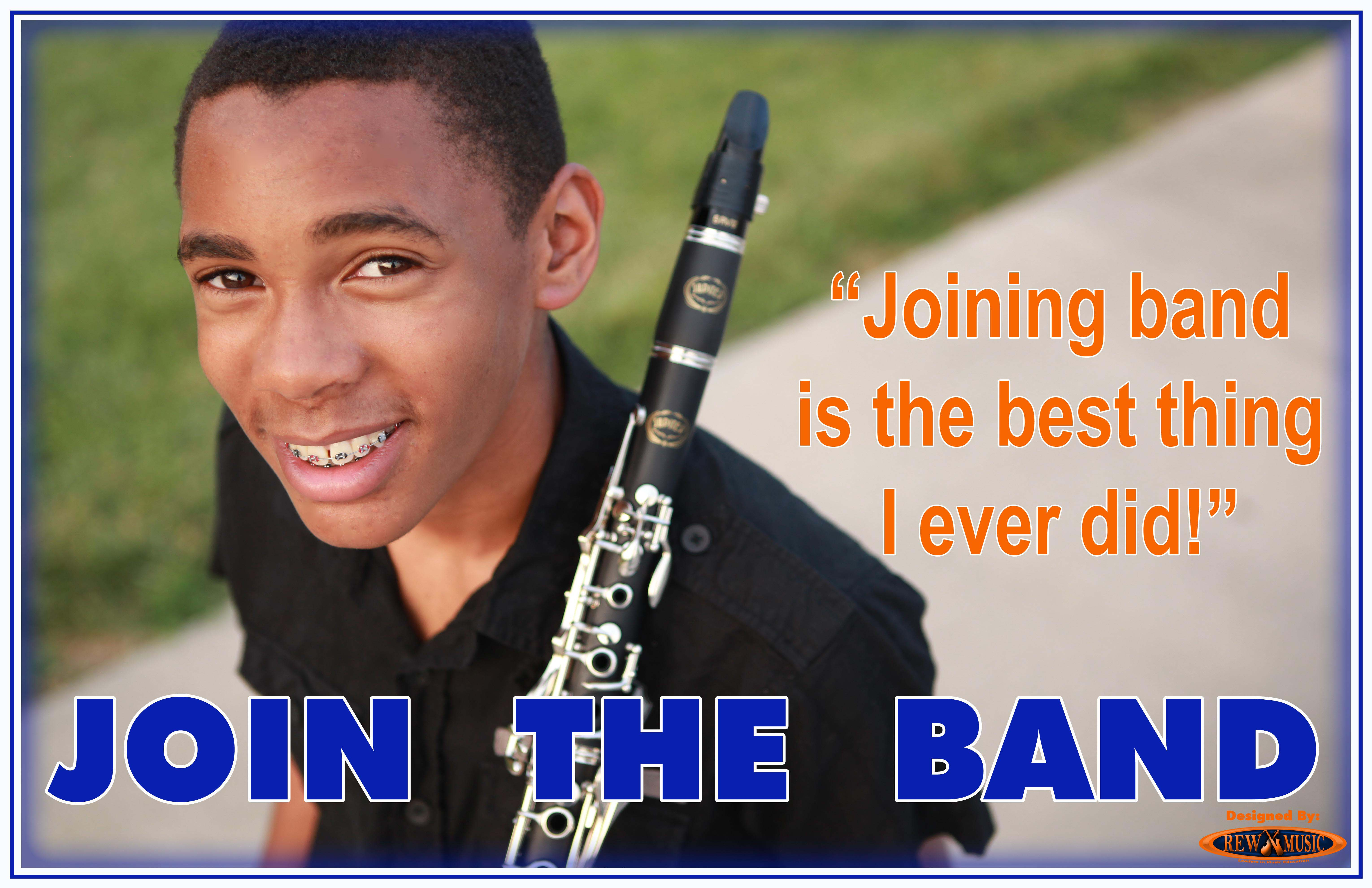 Join the School Band Clarinet