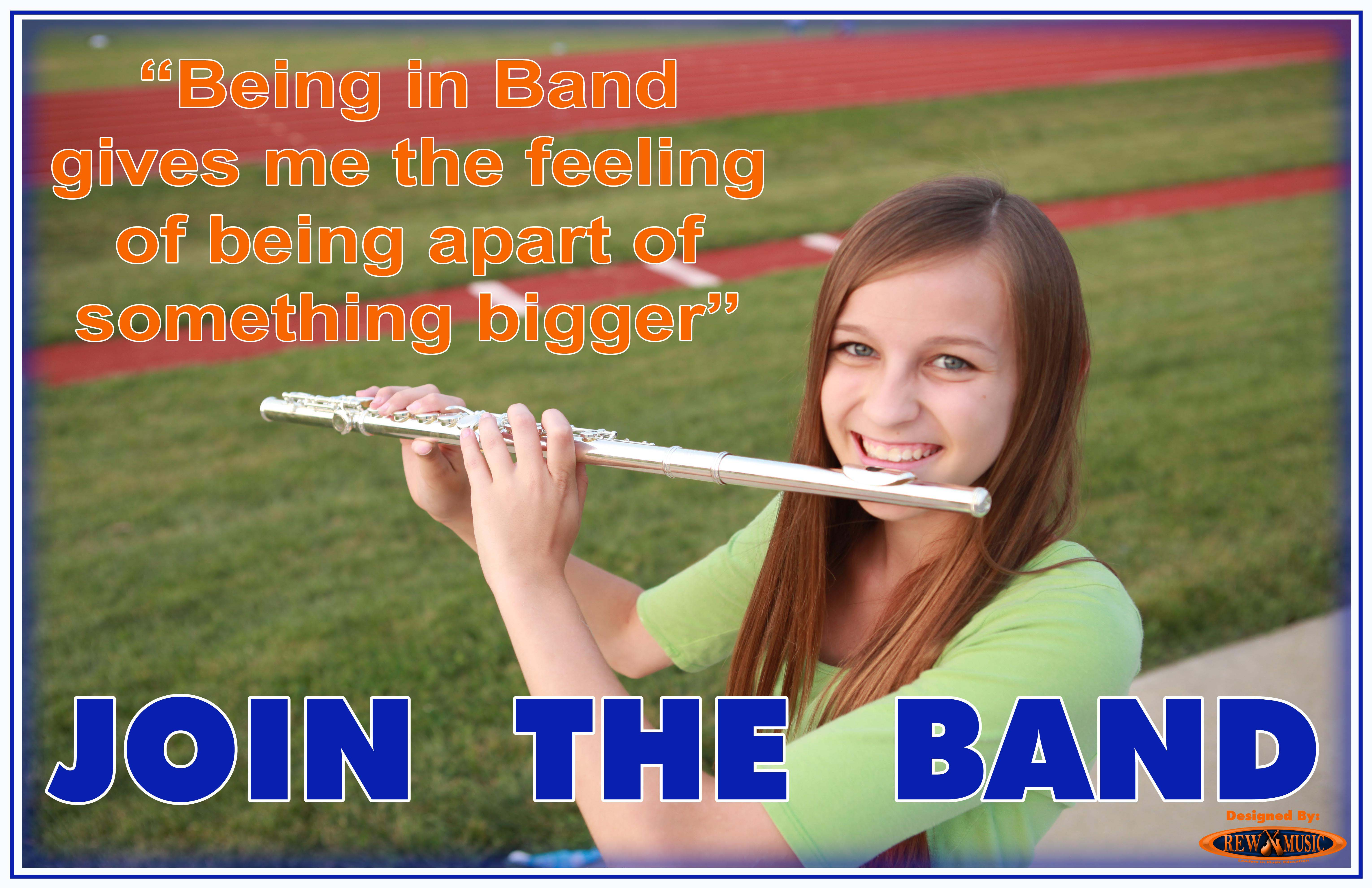 Join the School Band Flute