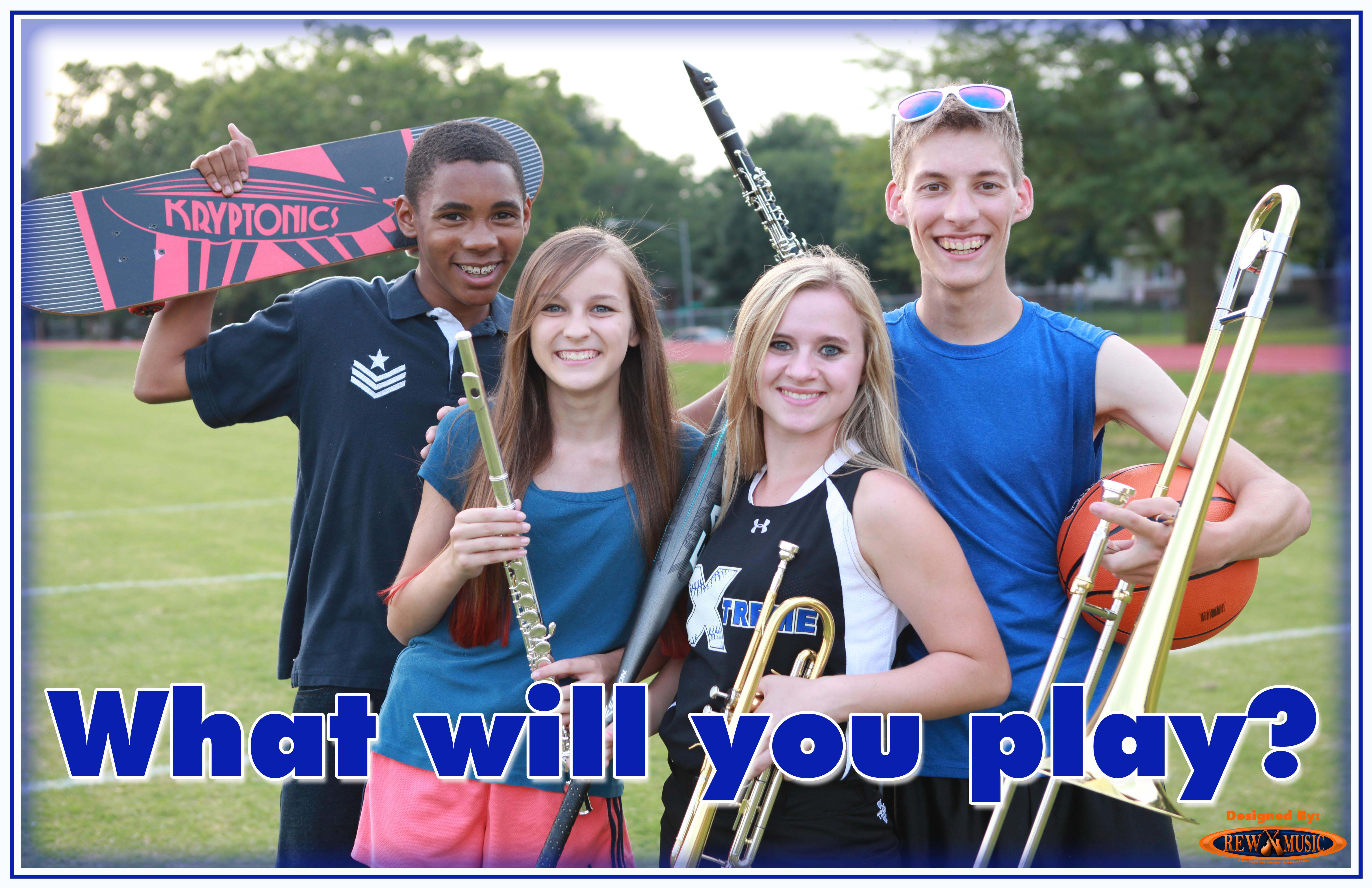 Join the School Band What Will You Play