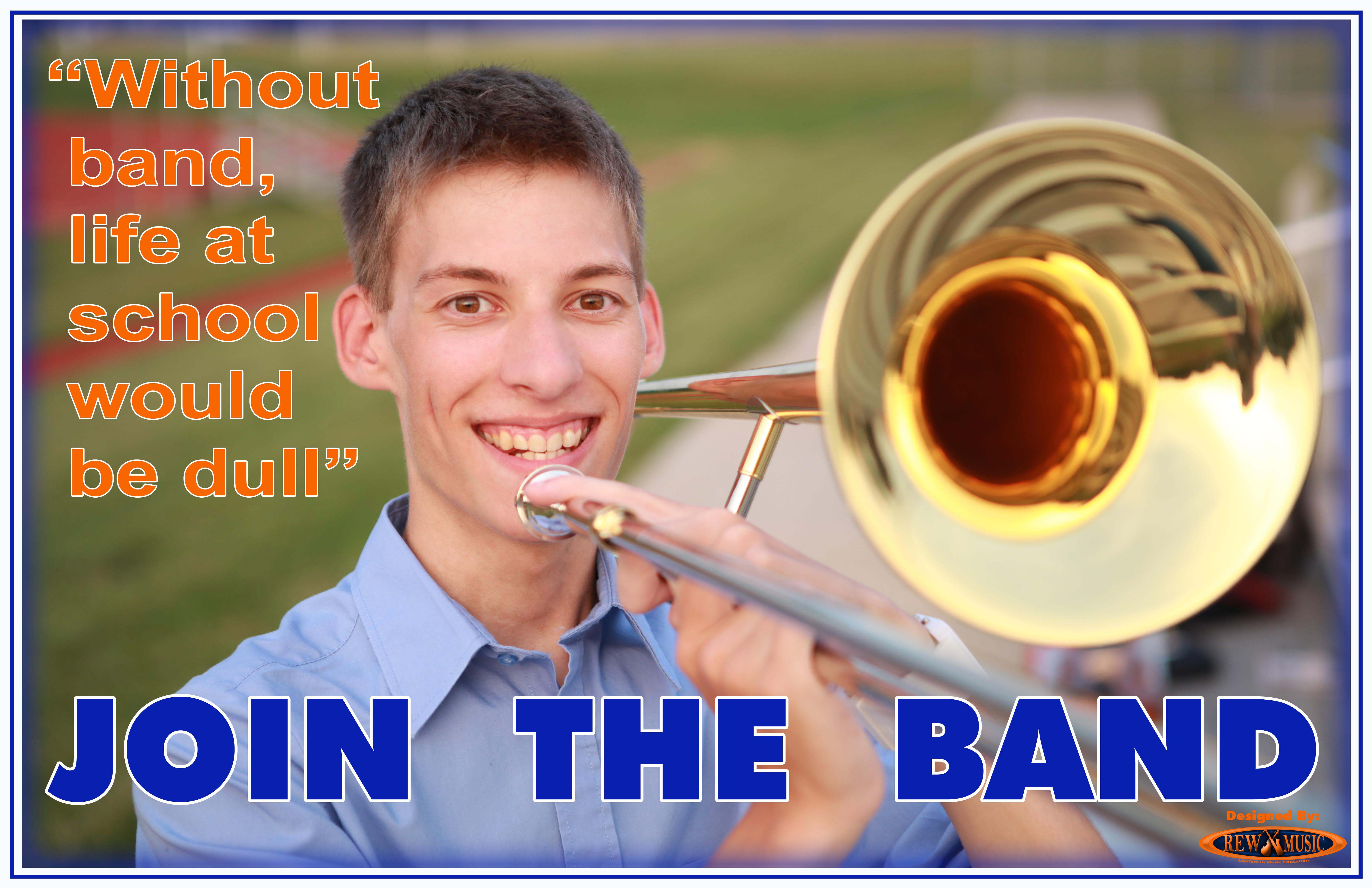 Join the School Band Trombone