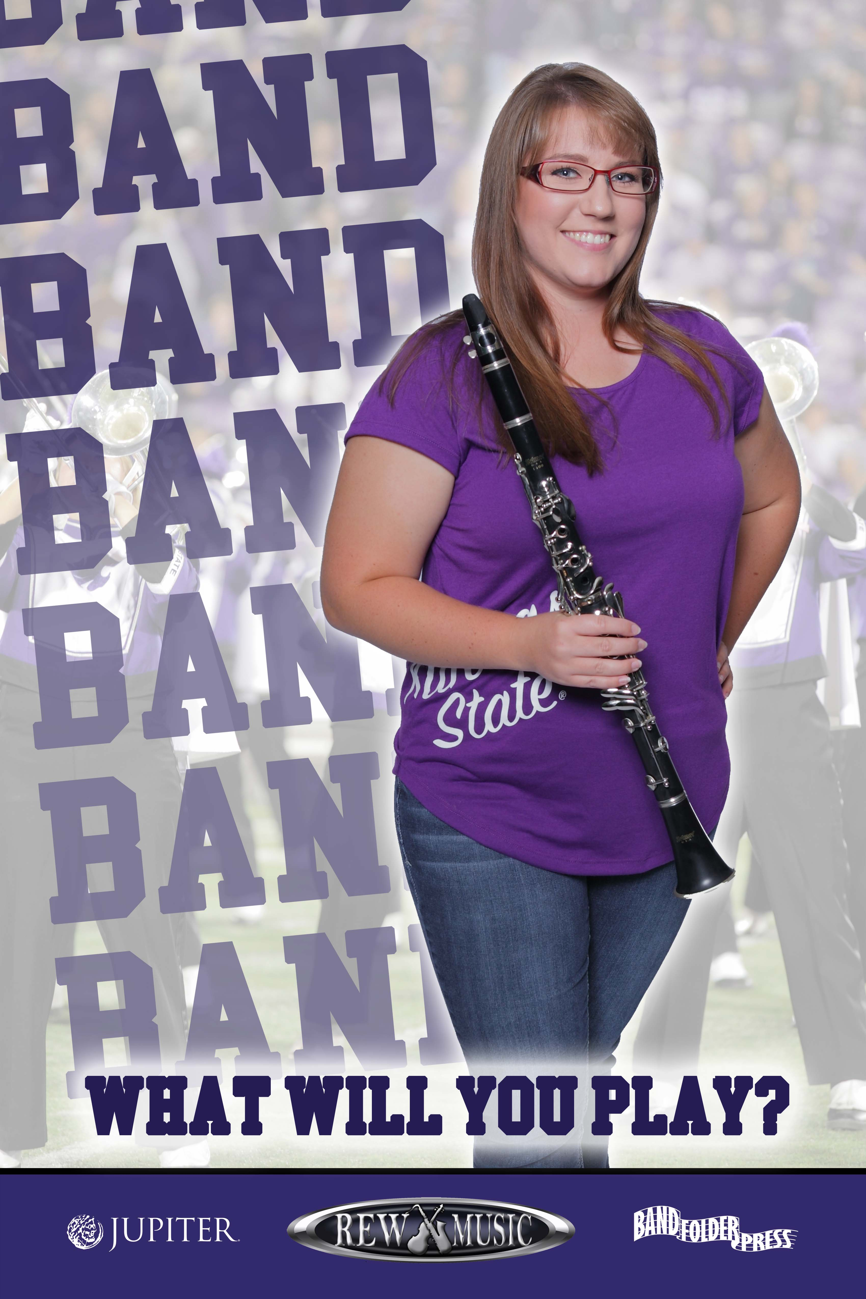 Join the School Band Clarinet player