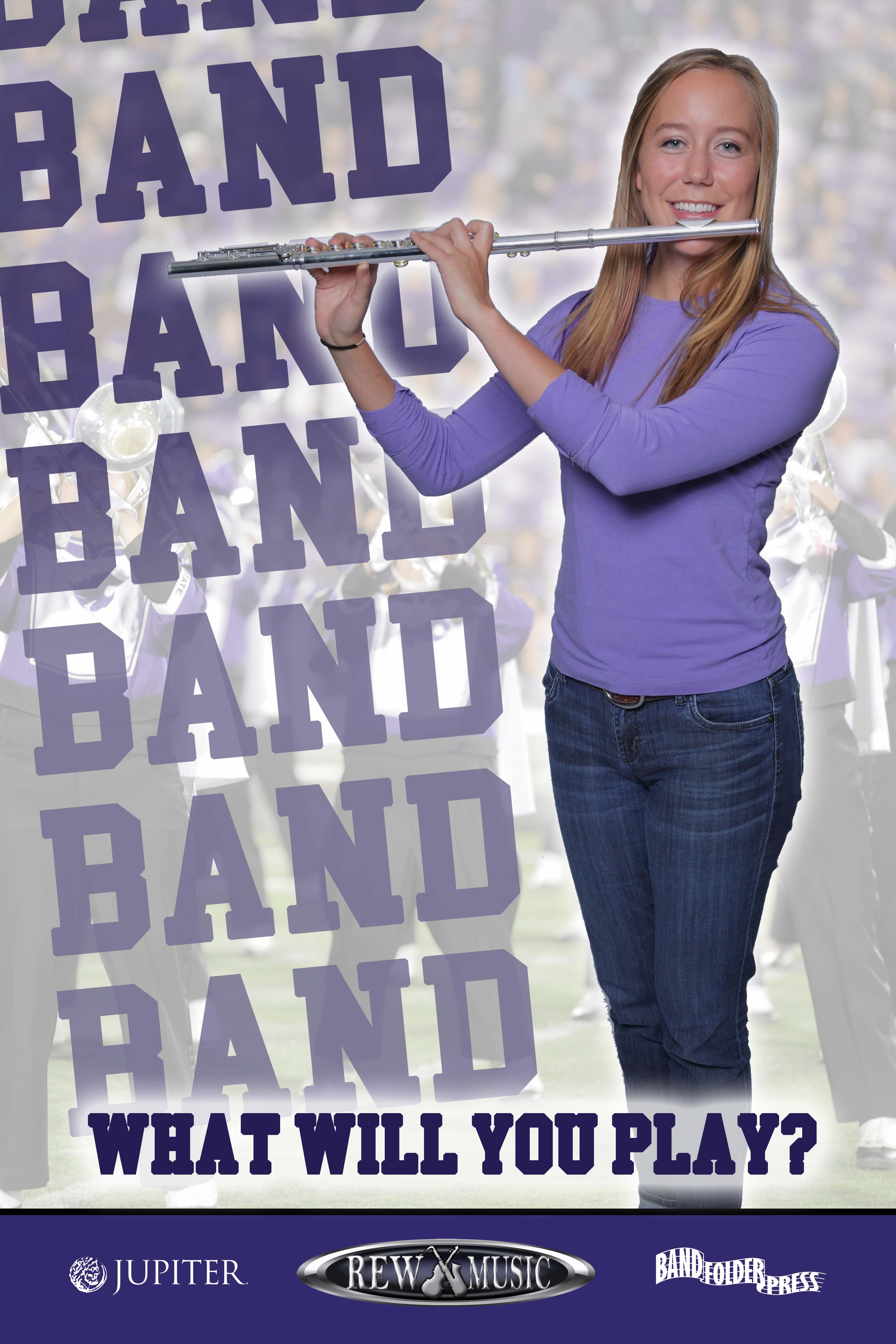 Join the School Band Flute player