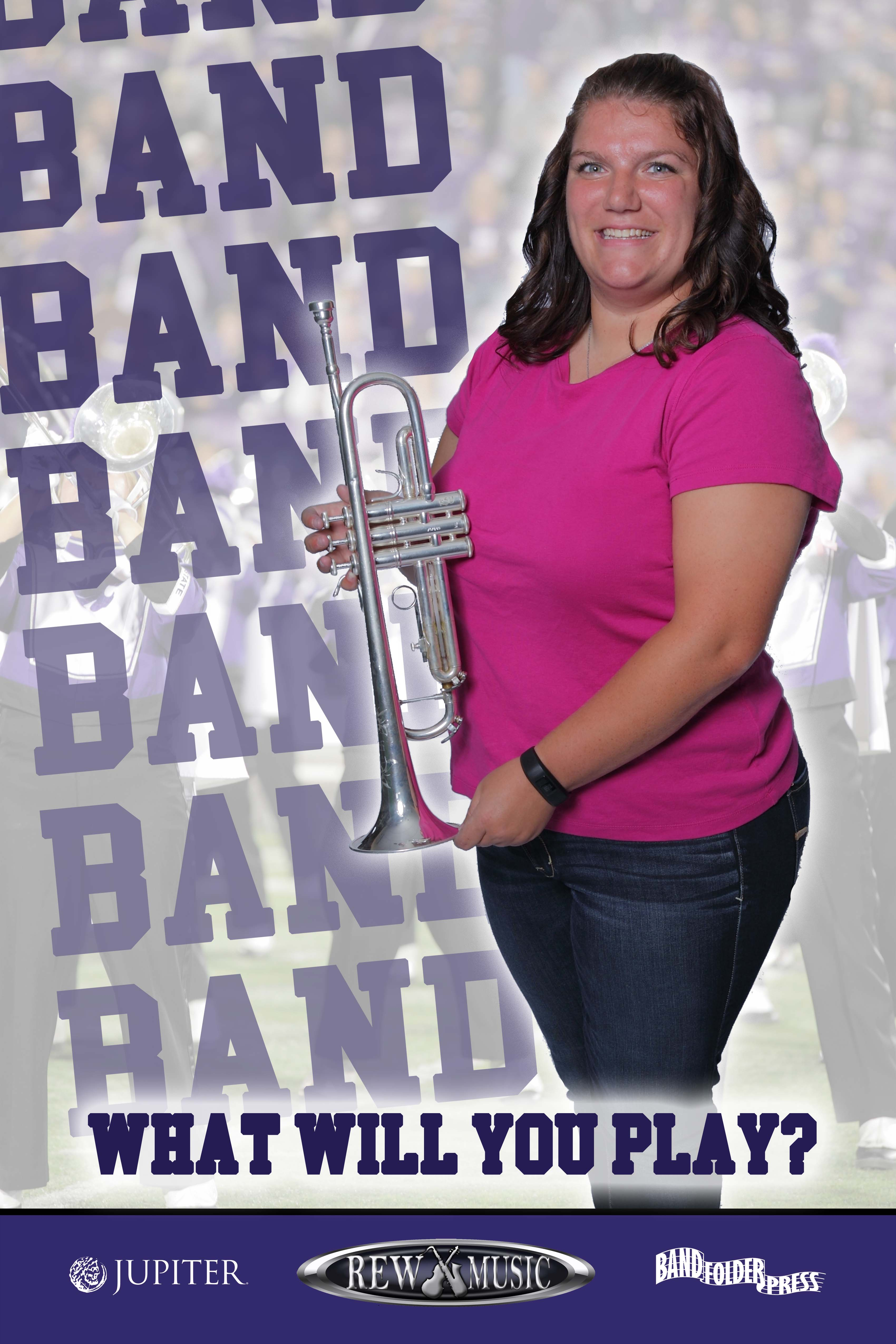 Join the School Band Trumpet player