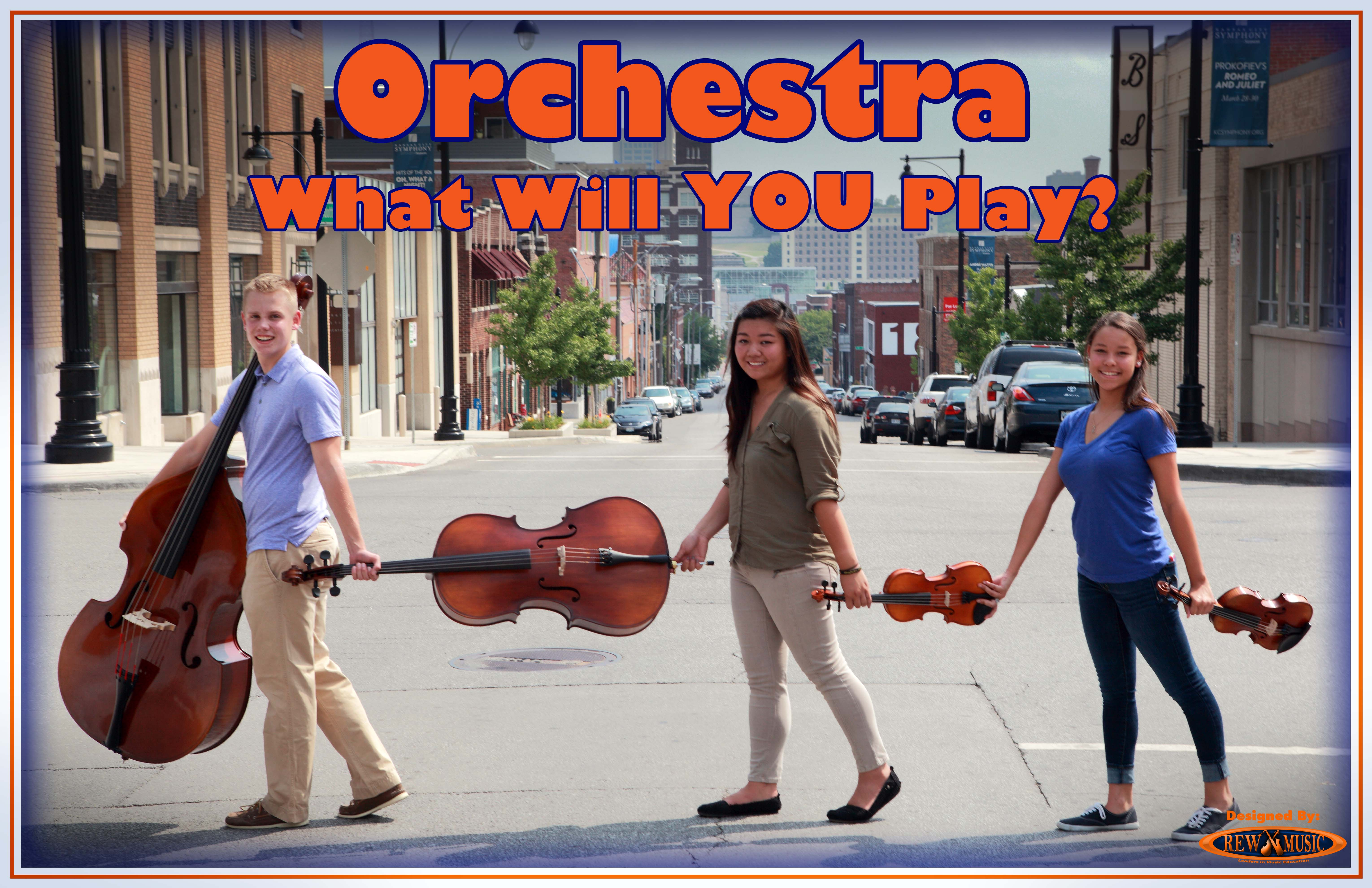 Join the School Orchestra Strings What Will You Play Group Abbey Road Style